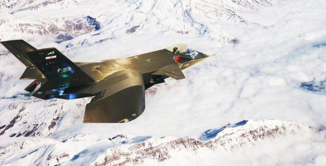 فیلم پرواز و خصوصیات جنگنده F313 ایران