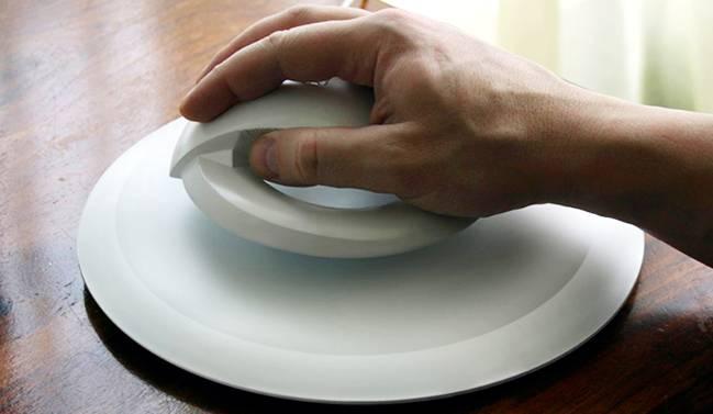 موس معلق و بی سیم برای کاهش صدمات به مچ دست