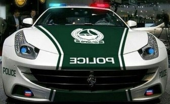 تجهیز پلیس دوبی به خودروی فراری ff