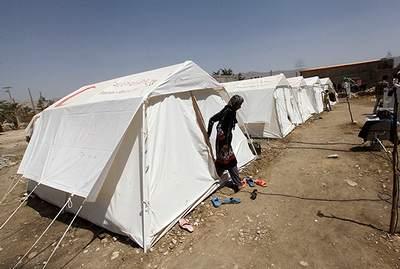 اردوگاه زلزله هرمزگان