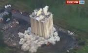 فیلم تخریب ساختمان با ۱۰۰ کیلو تی ان تی؛ استرالیا