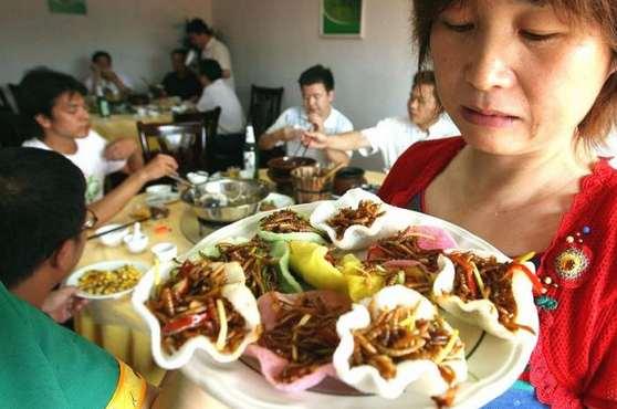 بفرمایید شام در چین + عکس