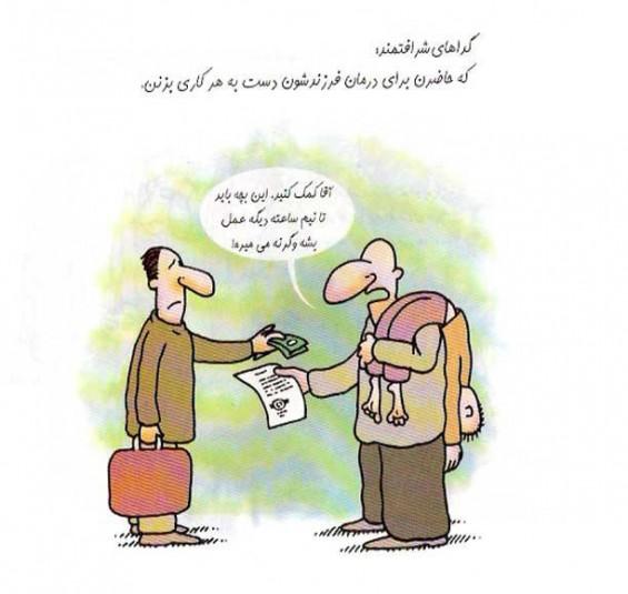 Beggar Caricature (2)
