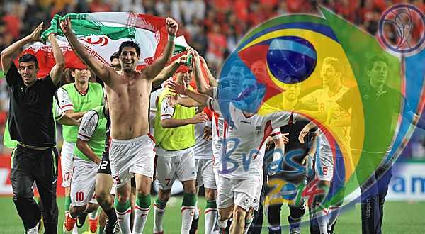 راهیابی ایران به جام جهانی2014برزیل