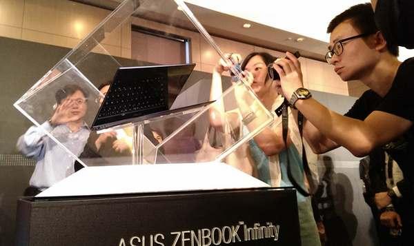 ایسوس Zenbook Infinity با صفحه لمسی و پردازنده Haswell