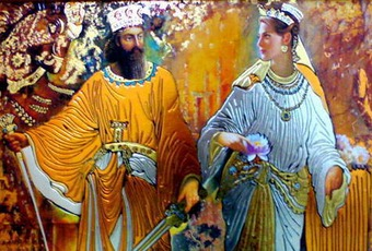 داستان زیبای کوروش کبیر و کزروس