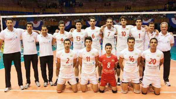 Iran v-ballers