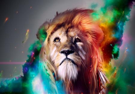 نقاشی کردن حیوانات هنرمند