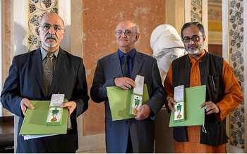 تجلیل از دریافت کننده مدال گوته ی۲۰۱۳ «محمود حسینی زاد»