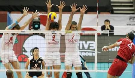 صعود تیم والیبال ایران به جام جهانی ۲۰۱۴ لهستان