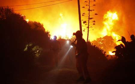 More forest fires in Spain