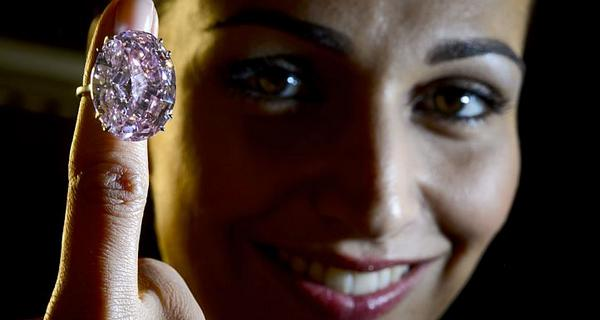 News about Pink Diamond, Sotheby