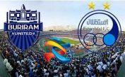 نتیجه دیدار استقلال و بوریرام تایلند ۲-۱ / صعود استقلال