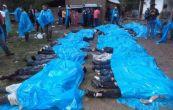 حادثه سقوط کامیون با ۵۲ کشته / ۱۳ تن کودک