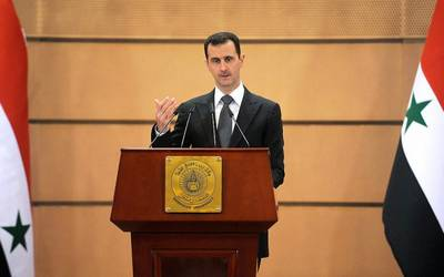 nobel award bashar assad