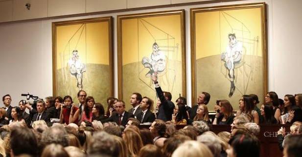 فروش گرانترین نقاشی جهان + عکس