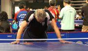 حذف قهرمان جهان و المپیک از رقابت های پینگ پنگ