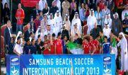 فوتبال ساحلی ایران قهرمان جام بین قاره ای ۲۰۱۳ امارات