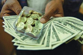 جدول قیمت سکه ، ارز ، طلا /سکه ۸۶۱ هزار و دلار ۲۹۶۵ تومان