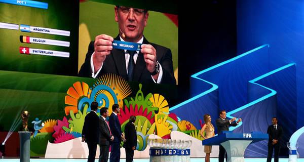 گروه بندی کامل جام جهانی ۲۰۱۴ برزیل