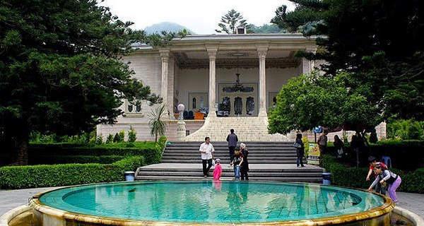 عکس هایی زیبا از « کاخ مرمر رامسر »