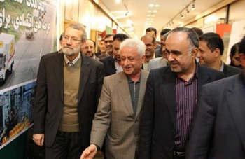 نمایشگاه چای لاهیجان با حضور نمایندگان مجلس  + عکس