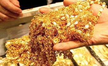 کاهش قیمت طلا در بازار امروز + جدول
