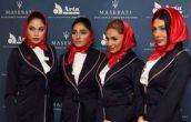 دختران مدل ایرانی و مدیر جوان مازراتی در تهران ! + عکس