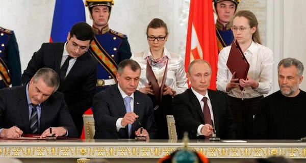 پوتین؛ امضا الحاق کریمه به روسیه / اوکراین؛ پس می گیریم