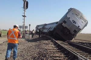 واژگونی قطار مشهد – تهران در شاهرود