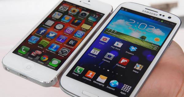 مقایسه گوشیهای آیفون ۵s، اکسپریا Z، لومیا، گلکسی ..