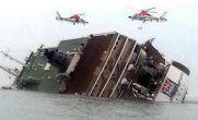 فیلم / غرق شدن کشتی مسافربری سئول کره جنوبی