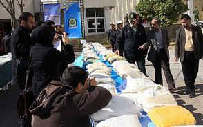 ۱۳۵ کیلوگرم مواد مخدر در فارس کشف شد