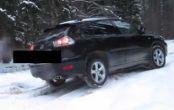 لکسوس Lexus RX ۳۵۰ در برف کوهستان + فیلم
