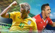 برزیل در ضربات پنالتی شیلی را شکست داد