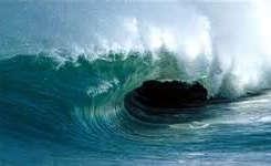 دریای خزر مواج