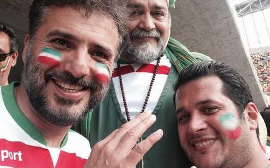 عکس شریفی نیا در جام جهانی 2014 برزیل