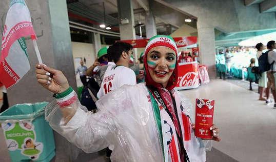 عکس جدید لیندا کیانی در جام جهانی 2014 برزیل