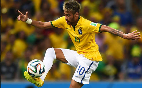 neymar Pictures injury Status world cup 2014 brazil (brasil)