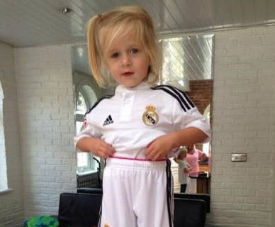 Daughter of Steven Gerrard