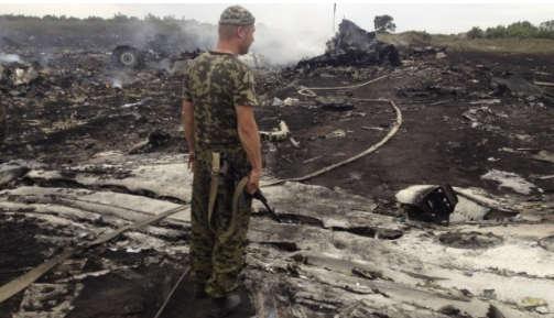 تصاویر سقوط هواپیمای مسافربری مالزی  Image plane crash in Malaysia