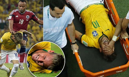 neymar Pictures injury Status