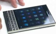 گوشی جدید و سفید Blackberry Passport + عکس