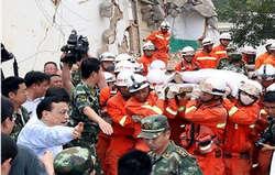 زلزله چین با بیش از 400 کشته