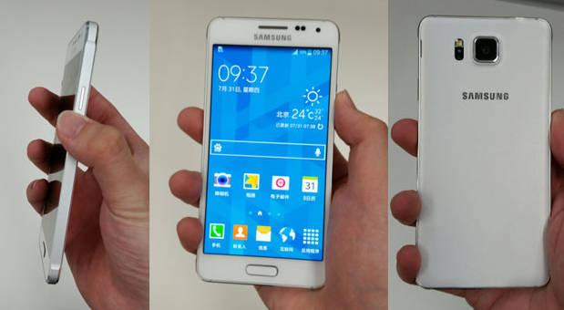 تصاویر و مشخصات Samsung Galaxy Alpha