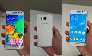 عکس های Samsung Galaxy Alpha