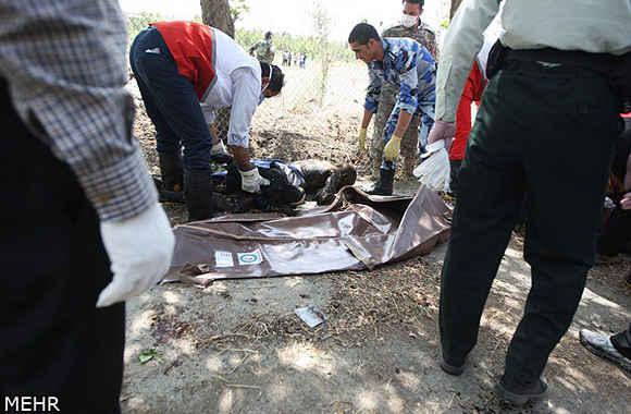 تصاویر سقوط هواپیما در تهران / شهرک آزادی
