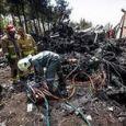 سقوط هواپیما حوالی مهرآباد تهران