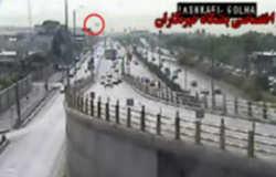 فیلم سانحه سقوط هواپیما در شهرک آزادی تهران
