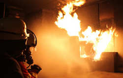 آتش سوزی بازار تهران